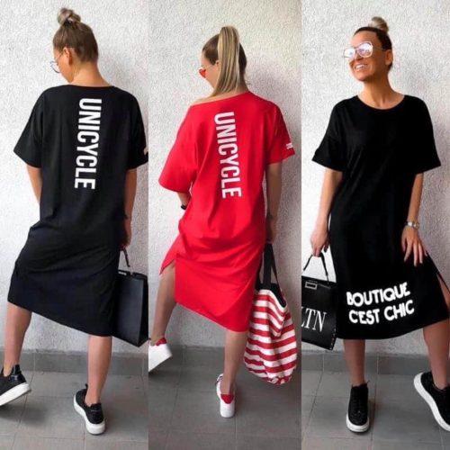 CHIC ruha - fekete