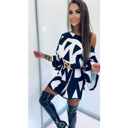 LOLA BIANKA black&white tunika