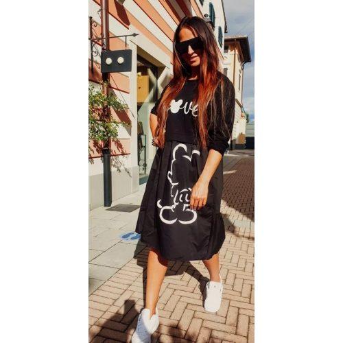 NELDA ruha - fekete